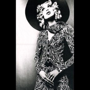 *Jackie for Biba, 1973. Looks like she has the attitude and confidence bit covered! She's no shrinking violet!*