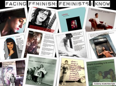 Facing Feminism: Feminists I Know