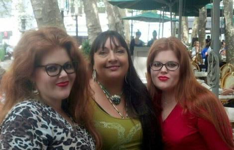 angie and katie with patricia
