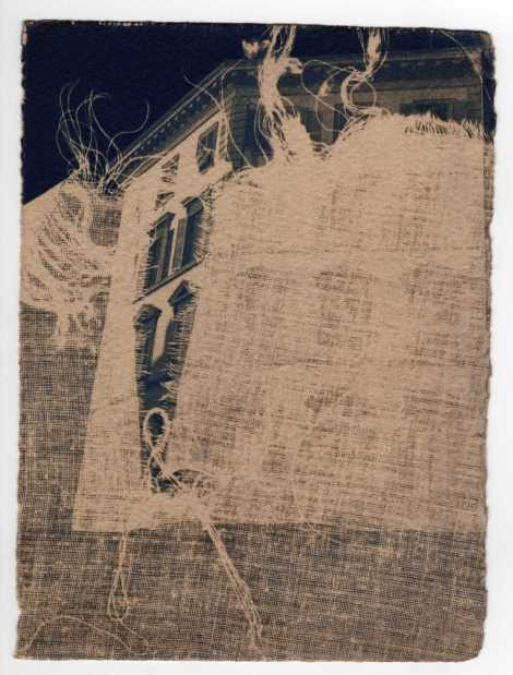 Unravel Reveal. Cyanotype Print by Adriana.