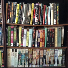JJA's poor, sagging bookshelves
